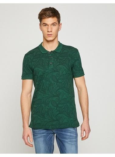 Koton Polo Yaka Tişört Yeşil